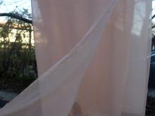 madder dyed silk chiffon