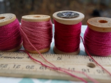 naturally dyed embroidery silks