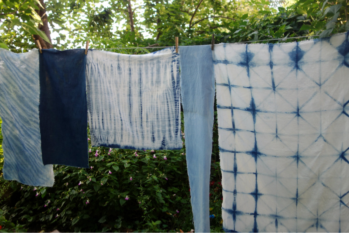 linen and indigo