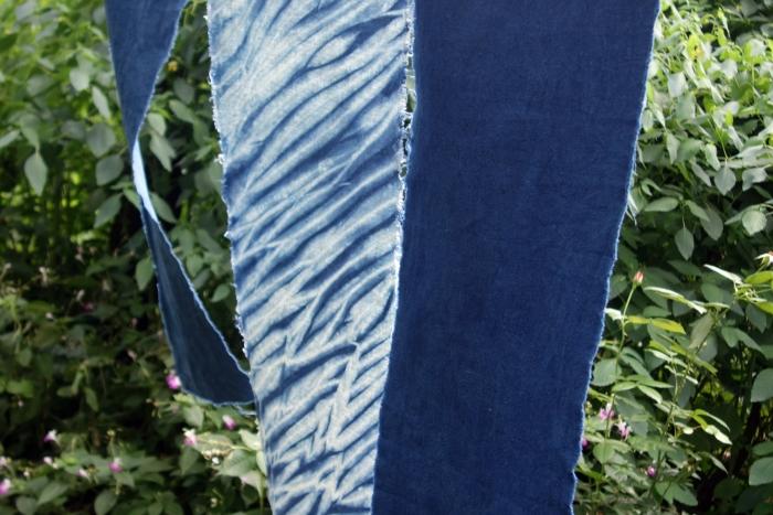 indigo dyed hemp fabrics