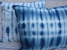 Indigo Shibori Pillow Covers