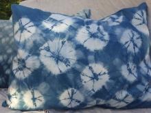Shibori Spiderweb Pillow Cover